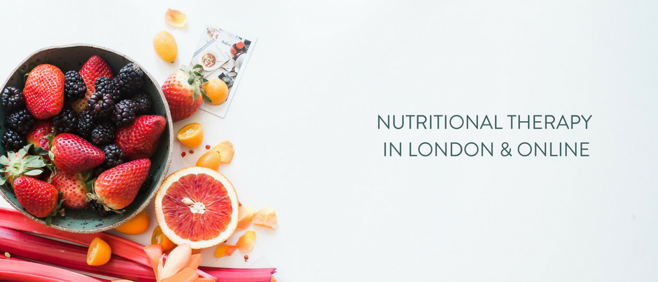 NUTRITIONAL THERAPY IN LONDON & ONLINE